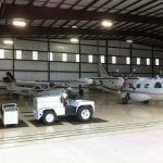 Built Airplane Hangar